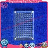 Lab Organic Glass V Type 96 Hole Biochemical Reaction Plate