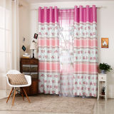 Countryside Style Print Curtain Fashion Curtain (KS-154)