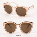 New Fashion Round Sunglasses with Metal Inside.