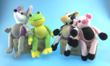 Doggy Ball in Cow, Frog, Mice, Piggy Shape for Pets to Play with