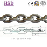 E. Galvanized DIN766 Link Chain for Lifting