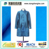 Yarn-Dyed Douppioni Satin /Silk Fabric (100% silk)