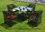2018 New Design Rattan Wicker Outdoor Leisure Table Set Furniture