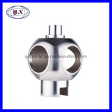CNC Machined Hollow Valve Ball with Trunnion Diversion Tube Suitable for Welding