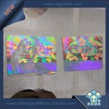 Silver Color Barcode Hologram Anti-Counterfeiting Sticker Printing