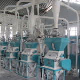 Maize Degerminator Maize Flour Milling Line for Africa Maize