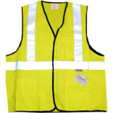 Safety Vest with Reflective Tape 130GSM in Zipper
