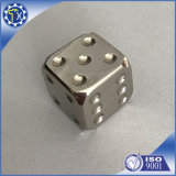 Personalized Funny Aluminum Precision Metal Dice for Sale