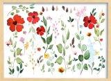 Botanical Wall Art in Wood & Wood Panel
