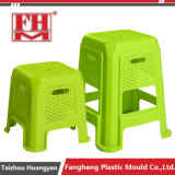 Plastic Injection Rattan Baby Outdoor Square Stool Mould