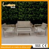 Metal Powder Spraying Aluminum Polywood Sofa Set Outdoor Garden Furniture