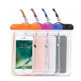 Wholesale PVC Waterproof Phone Case Swimming with Lanyard