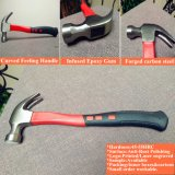 #45 Forged Carbon Steel Claw Hammer with Best Prices and Good Quality