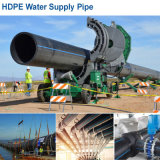 Factory Wholesale Water HDPE Pipe Fittings PE Plastic Pipe Pn6 to Pn16 DN20 to DN1000mm