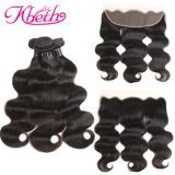 Kbeth Competitive Price Body Wave Human Hair Weaves 8inch Good Quality 100% Human Hair Weft Hair