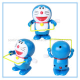 DTY0143 Cat Skipping Rope Plastic Wind up Toys Cheap Clockwork