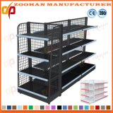 Unattackable Double Sided Metal Wire Display Rack Supermarket Shelf (Zhs33)