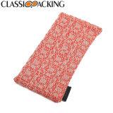 Classic Packing Custom Printed Fabric Glasses Bags