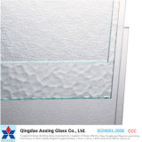 Clear Patterned Glass/Rolled Glass/Figured Glass