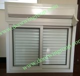Rolling Shutter & PVC Glass Window for Container House, Competetive PVC Casement Window, Good Quality PVC Window Withe Grille