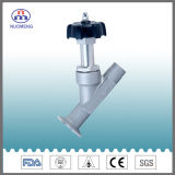 Sanitary Stainless Steel Angle Seat Valve for Pharmacy, Food and Beverage Processing