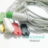 3/5 Lead Fukuda Denshi ECG Cable with ECG Lead Wire