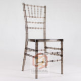 Factory Wholesale Cheap Moderen Outdoor Furniture Wedding Hotel Wood and Resin Chiavari Chair
