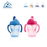Wholesale Plastic Drinking Cup with Handle Baby Training Drinking Water Cup