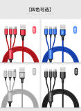 USB Cable Type C Cable Android Cable iPhone Cable 3 in 1 USB Cable Micro Cable Free Shipping