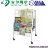 Steel Book Rack for Display (SLL-B002)