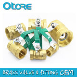 Dzr Brass Ball Valve Forged Pn16 OEM Avaliable