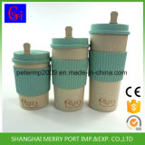 100% Natural BPA Free 400ml/500ml/600ml Rice Husk Travel Cup