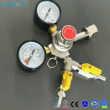 CO2 Gas Regulator with One Two Way for CO2 Cylinder