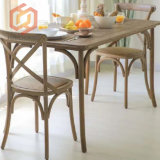 Buy Discount Price Wooden Cross X-Back Dining Chairs Made in China
