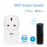 WiFi Enalbed Power Switch Plug Socket Timer with APP Control