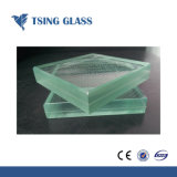 6.38-43.20mm Clear Colored Laminated Glass for Buildings Stairs Handrail