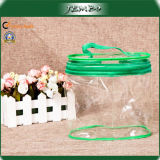 PVC Transparent Clear Cylinder Cosmetics Bag