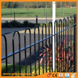 Powder Coated Steel Loop Top Garden Fencing