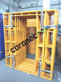 ANSI Building Material Construction High Quality Powder Coated Fast Lock Walk Thru Frame Scaffold (CSWT564FL)