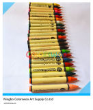 24 Colors 1.1*10cm Classic Non-Toxic Crayons for Students and Kids