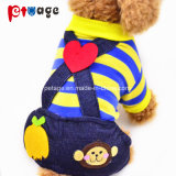 Puppy Pet Supply Spring Soft Overalls Dog Clothes Pet Product