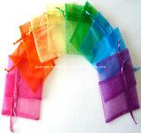 Custom Simple Cheap Christmas Gift Organza Bag