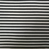 Nylon Polyester Spandex Blended Color Striped Knitting Fabric