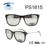 Silver Lens UV400 Ce FDA Certificate Woman Sunglasses (PS1615)