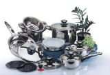 Stainless Steel Cookware Set Cooking Pot Casserole Frying Pan S108