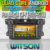 Witson S160 Car DVD GPS Player for Mazda Cx-7 (2010-2011) with Rk3188 Quad Core HD 1024X600 Screen 16GB Flash 1080P WiFi 3G Front DVR DVB-T Mirror-Link(W2-M097)