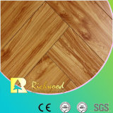 Commercial 12.3mm Embossed Hickory Waxed Edged Lamianted Floor