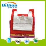 HDPE Colorful T Shirt Plastic Bag