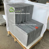 Full Bullnose Edge China Grey/Black Basalt Bluestone Basalt for Coping/Kerbstone/Swimming Pool