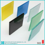 China Factory Price 6.38mm 8.38mm 10.38mm Sandwich Milky White Color F-Green Clear Float Laminated Glass